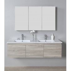 FRANCO WOOD GRAIN VANITY 1500MM