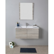 FRANCO WOOD GRAIN VANITY 900MM