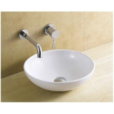 Designer Bathroom Above Counter ROUND Vanity Ceramic Basin 8331