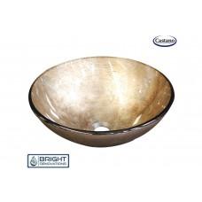 Castano Hera Gold Glass Basin
