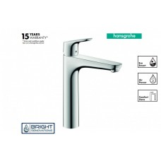 Hansgrohe Focus Single Lever Basin Mixer 190