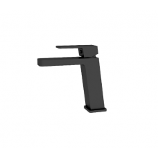 Celia MATT BLACK Lean Body Bathroom WELS Basin Mixer Tap Faucet