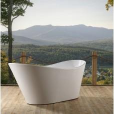 Designer SEAL Thin Edge Bathroom Freestanding Acrylic BathTub 1800MM
