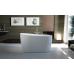 Unique 1400MM Otter Thin Edge Bathroom Oval Freestanding Acrylic BathTub
