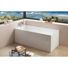 Kubic Back To Wall/Corner Free-standing Bath