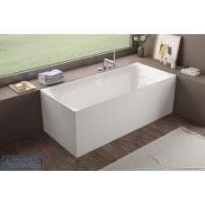 Kubix Back To Wall/Corner Free-standing Bath
