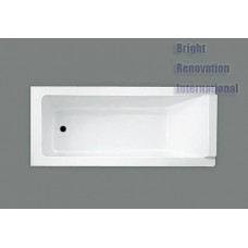 Designer Bathroom Square Bathtub Acrylic Drop In Bath Tub 1500MM, 1600MM&1700mm