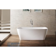 Charm Thin Edge Free Standing Acrylic Bath Tub 1500mm&1700mm