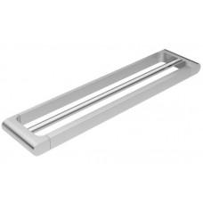 OSCAR Solid Brass Chrome Towel Rail Double 600mm, Quality Bathroom Accessory