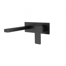 CELIA Bathroom Wall Basin/Bath Mixer Tap MATTE BLACK