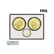 IXL Tastic Eco Vivid 3 in 1 - Bathroom Heater, Exhaust Fan & Light