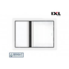 IXL Tastic Luminate Single 3 in 1 Bathroom Heater, Exhaust Fan & Light - White