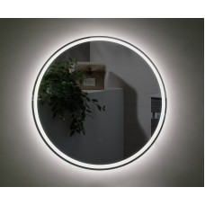 Bathroom 600mm LED Round Mirror with Touch Sensor Switch