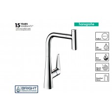Talis Select M51 Single Lever Kitchen Mixer 300,  Pull-out Spout, 1jet