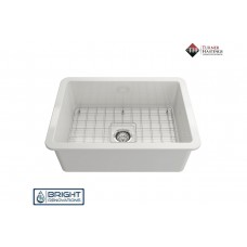 Turner Hastings Cuisine 68 x 48 Inset / Undermount Fine Fireclay Laundry Sink