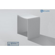 Sylinn Bathroom Solid Surface Stool