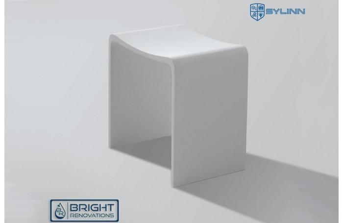 Sylinn Bathroom Solid Surface Stool