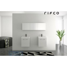 Rifco Overlay Sleek Short Mirror Shaving Cabinet (500mm Height)