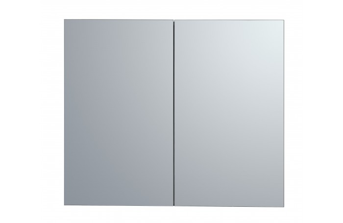 Pencil Edge Polyurethane Shaving Mirror Cabinet  900mm