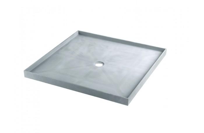MARBLETREND Self Support Under Tile Shower Base, Shower Tile Tray 890x890x60H