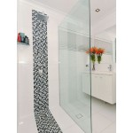 Frameless Walk In Shower Panel With U Channel