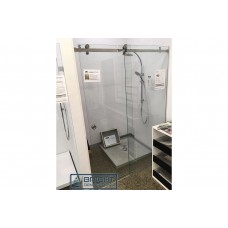 Frameless Sliding Shower Screens With U Channel