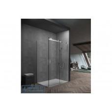 Frameless Sliding Shower Screens (Front&Return)