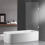 Frameless Overbath Shower Screen
