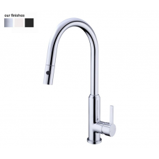 PEARL PULL OUT SINK MIXER WITH VEGIE SPRAY