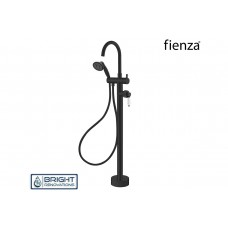 Fienza Eleanor Floor Bath Filler Matte Black