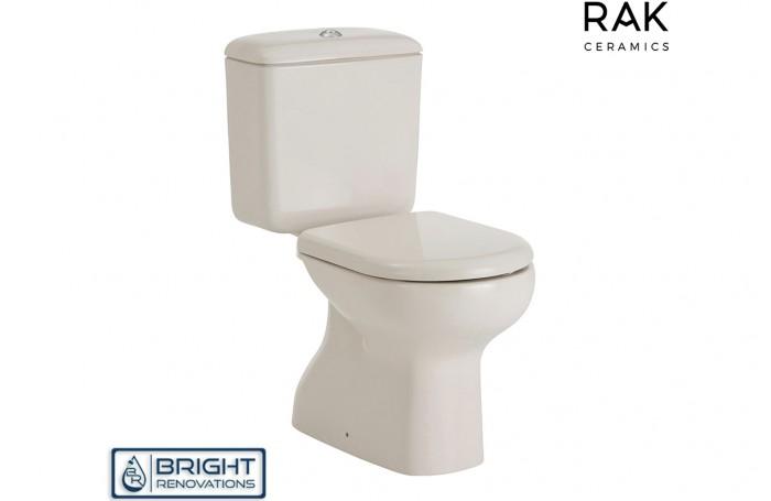 RAK Liwa Ivory Close-Couple Toilet Suite