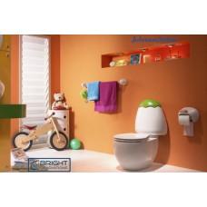 Johnson Suisse Cotto Egg Junior/Children's Close Couple Toilet Suite