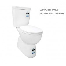 PALERMO ELEVATED Wels Bathroom Toilet Suite, Full Ceramic Close Couple