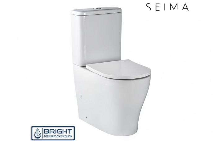 Seima Limni Back to Wall Toilet Suite