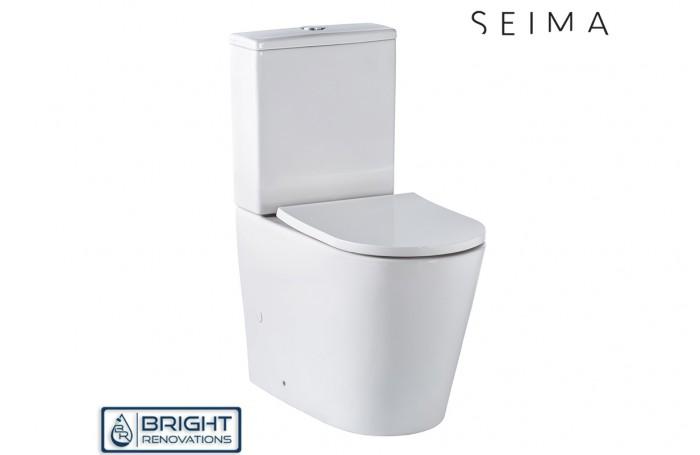Seima Modia Back to Wall Toilet Suite