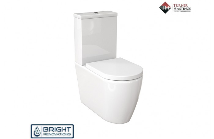 Turner Hastings Narva Rimless Back to Wall Toilet Suite