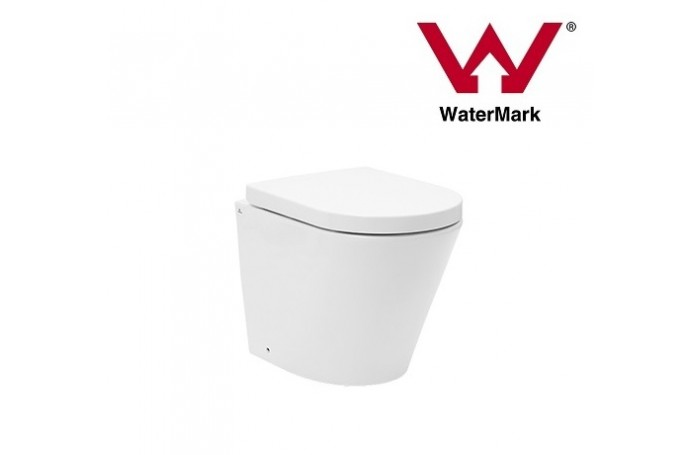 TORINA IN WALL Ceramic Wall Faced Toilet with GEBERIT INWALL CISTERN Soft Close Seat
