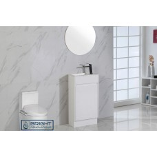 Brant Compact Powder Room Vanity 465
