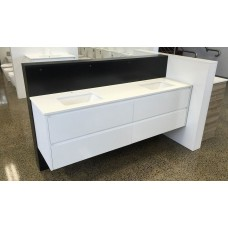 REVO Bathroom White All Drawers Vanity 1800mm
