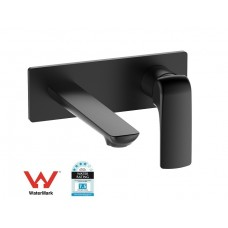 ZITA Bathroom Wall Basin/Bath Mixer Tap MATTE BLACK