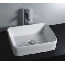 Brand New Above Counter Bathroom Vanity Square Bench Top Ceramic Basin B582