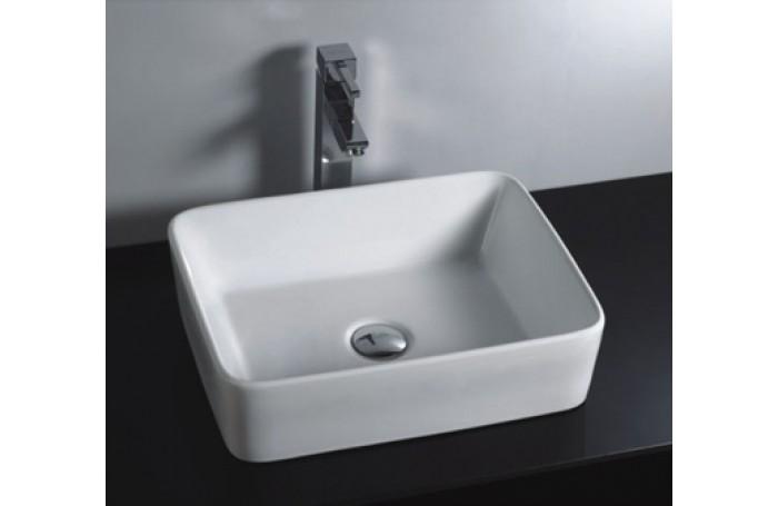 Brand New Above Counter Bathroom Vanity Square Bench Top Ceramic Basin B582