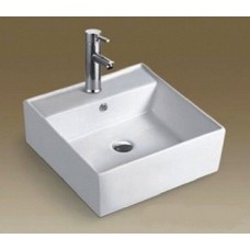 Above Counter Bathroom Vanity Square Medium Bench Top Ceramic Basin A286D