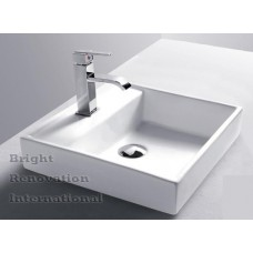 Brand New Above Counter Bathroom Vanity Bench Top Ceramic Basin 491BC