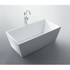 SWAN Square Super Thin Edge Bathroom FreeStanding Acrylic BathTub 1700mm