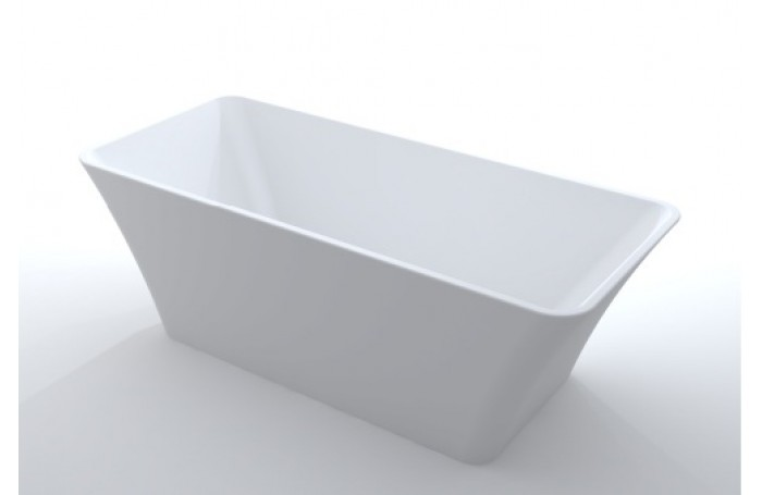 BUTTERFLY Bathroom Square FreeStanding Acrylic BathTub 1500MM & 1700MM