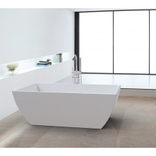 SEAHORSE Bathroom Square FreeStanding Acrylic BathTub 1500mm&1700mm