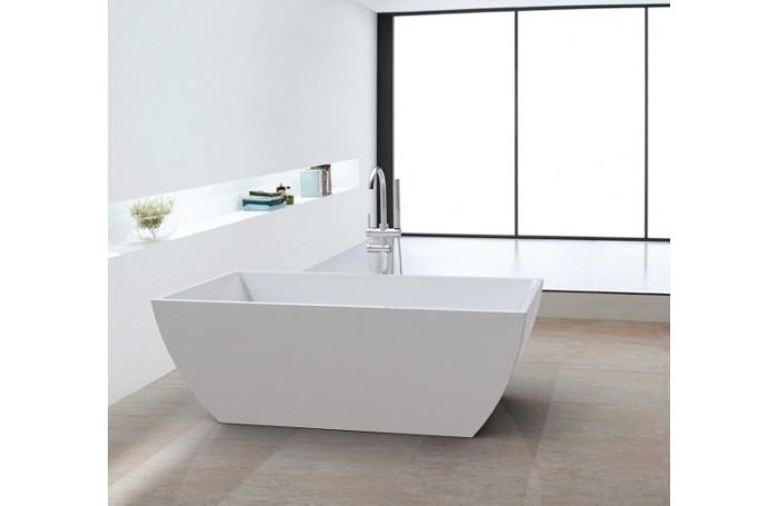 SEAHORSE Bathroom Square FreeStanding Acrylic BathTub 1500mm&1700mm