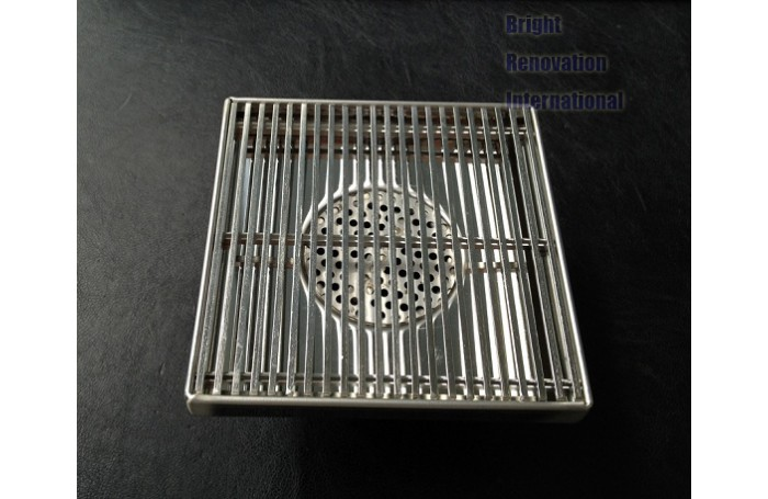 Streamline HANDMADE Shower Floor Waste Grate Drain 120mm