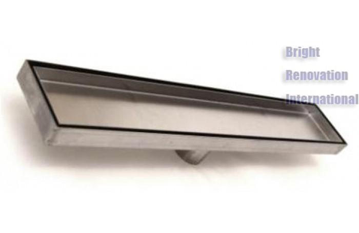 HANDMADE Smart Tile Insert Shower Floor Long Waste Grate Drain 1200mm